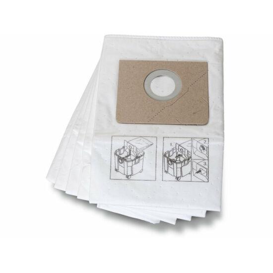 Standard flíz zsák  (durvább porokhoz és általános szennyhez, 5 –ös csomag)
