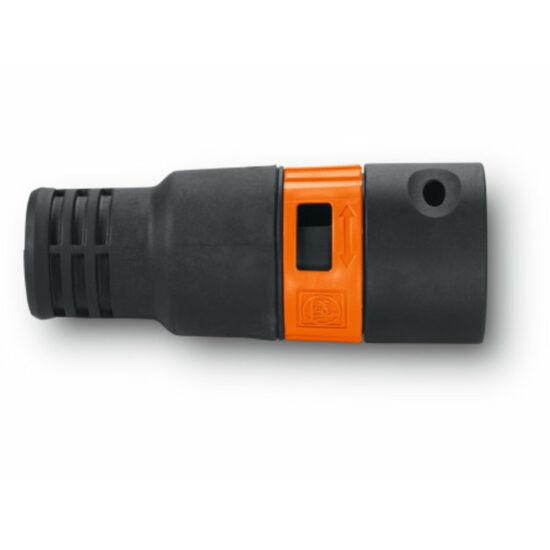 Adapter, szívóerő szabályozással ellátott szerszám-csőhüvely (Ø 27 mm)